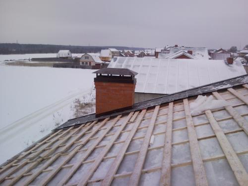 оставить обрешетку без металлочерепицы на зиму прогноз погоды неделю
